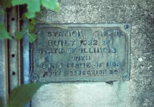 1922 bridge sign