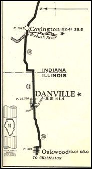 Eastern section:  Danville
