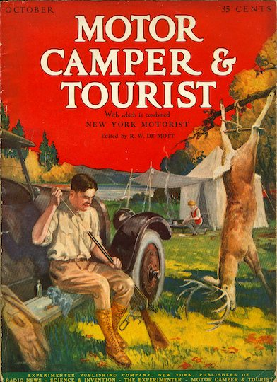 PPOO Era Magazines - 1925 October Motor Camper & Tourist